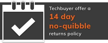 Techbuyer offers 14 day no quibble returns