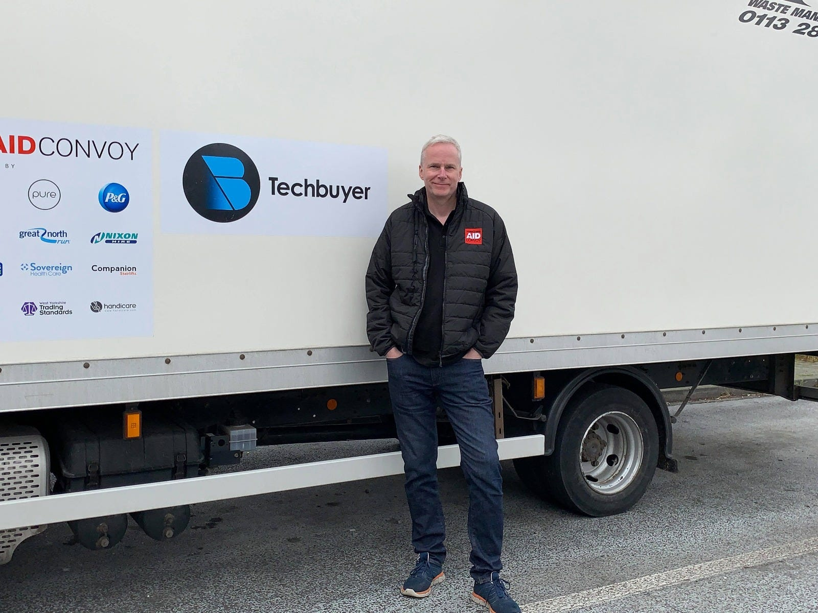 Yorkshire Aid Convoy Techbuyer Donation