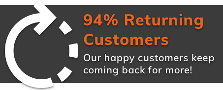 Techbuyer have 94% returning customers