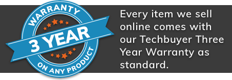 Techbuyer Three Year Warranty